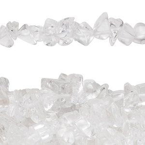 Jewelry - Quartz Crystal (natural) Chip Strand